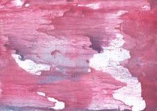 Pale violet red vague watercolor texture Stock Image