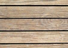 Pale Wood Background Natuurlijke houten textuur met horizontale lijnen Stock Afbeelding