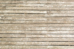 Pale wooden planks floor Stock Photos
