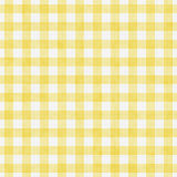 Pale Yellow Gingham Pattern Repeat bakgrund Royaltyfri Bild