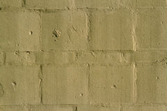 Pale yellow wall. For background Stock Photos