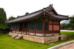 The  palece in Korea. Royalty Free Stock Image