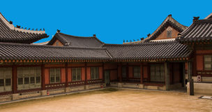 The  palece in Korea. The classical palece in Korea Stock Images
