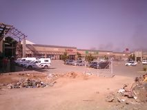 Paledi Mall. Construction taking place Royalty Free Stock Photo