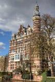 Paleis in Amsterdam Royalty-vrije Stock Foto