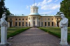 Paleis Arkhangelskoye Royalty-vrije Stock Afbeeldingen