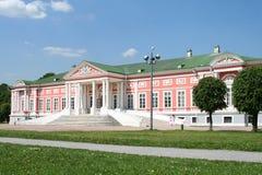 Paleis bij het museum-landgoed Kuskovo. Royalty-vrije Stock Afbeelding