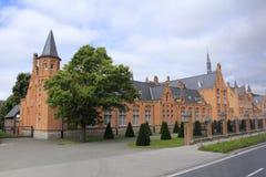 Paleis in Brugge België Stock Afbeelding