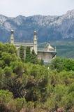 Paleis in de Krim Royalty-vrije Stock Afbeelding