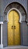 Paleis in Fes, Marokko royalty-vrije stock fotografie