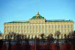 Paleis in het Kremlin Stock Foto