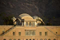 Paleis Jal Mahal India stock afbeelding