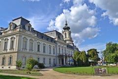 Paleis in Keszthely, Hongarije Royalty-vrije Stock Foto