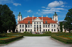 Paleis in Koz?ówka, Polen Stock Fotografie