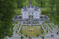 Paleis Linderhof Royalty-vrije Stock Foto
