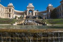 Paleis Longchamp Frans Marseille, Stock Afbeeldingen