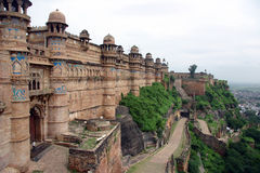 Paleis in noordelijk India Stock Foto's