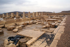 Paleis in Pasargadae Stock Afbeeldingen