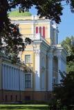 Paleis rumyantsev-Paskevich. Gomel, Wit-Rusland. Royalty-vrije Stock Fotografie