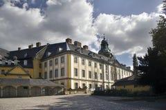 Paleis Schloss Heidecksburg Stock Afbeeldingen