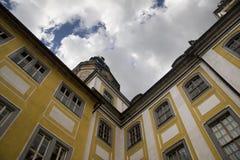 Paleis Schloss Heidecksburg Stock Afbeelding