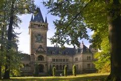 Paleis Schloss Hummelshain Stock Afbeeldingen