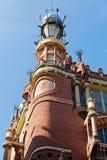 Paleis van Catalaanse Muziek in Barcelona, Spanje Stock Foto