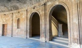 Paleis van Charles V in Alhambra Stock Foto