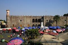 Paleis van Cortes, Cuernavaca, Mexico stock foto