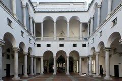 Paleis van de Doges in Genua royalty-vrije stock foto