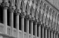 Paleis van de Doges, Vaneza, Italië Royalty-vrije Stock Foto's