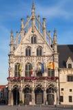 Paleis van de Grote Raad in Mechelen Stock Afbeelding