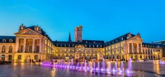 Paleis van de Hertogen van Bourgondië in Dijon, Frankrijk royalty-vrije stock afbeelding