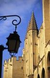 Paleis van de Pausen, Avignon, Frankrijk Royalty-vrije Stock Foto
