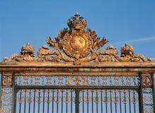 Paleis van de poort van Versailles stock afbeelding
