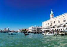 Paleis van Doges, Venetië, Italië stock afbeeldingen