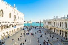 Paleis van Doges, Venetië, Italië royalty-vrije stock fotografie