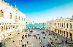 Paleis van Doges, Venetië, Italië royalty-vrije stock afbeeldingen