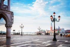 Paleis van Doges, Venetië, Italië stock fotografie