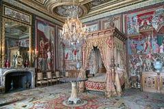 Paleis van Fontainebleau Royalty-vrije Stock Afbeeldingen