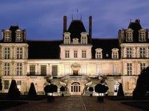Paleis van fontainebleu Parijs Frankrijk Royalty-vrije Stock Foto's
