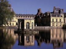 Paleis van fontainebleu Parijs Frankrijk Royalty-vrije Stock Fotografie