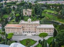 Paleis van Gouverneur van de Stad van Vatikaan stock foto