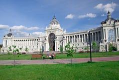 Paleis van landbouwers in Kazan, Rusland Royalty-vrije Stock Fotografie