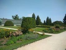 Paleis van Lednice - tuin Royalty-vrije Stock Foto