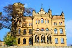 Paleis van Litouwse Architectenunie in Vilnius-stad in de herfsttijd Stock Afbeeldingen