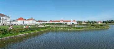 Paleis van Nymphenburg Stock Foto