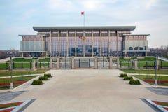 Paleis van Onafhankelijkheid Minsk, Wit-Rusland. royalty-vrije stock afbeelding