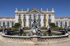Paleis van Queluz - Lissabon - Portugal Royalty-vrije Stock Afbeelding