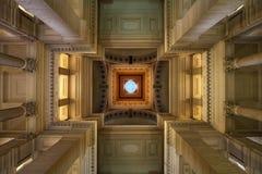 Paleis van Rechtvaardigheid, Brussel Stock Foto